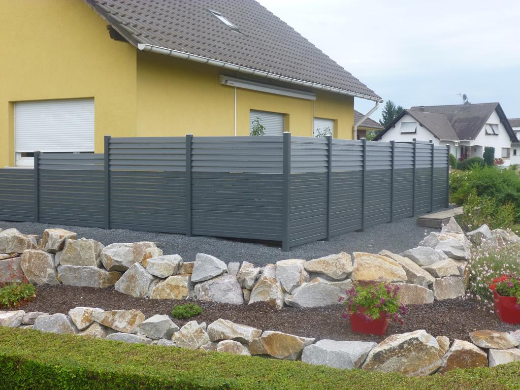 Installer Brise Vue Jardin Intimite Design De Maison