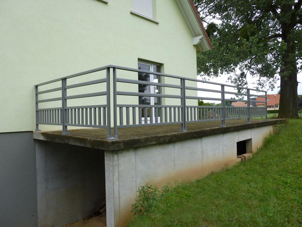 Réalisation et installation de gardecorps de qualité en