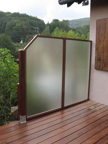Fabricant et installation de panneaux brise vue en bois - Brise vue pour terrasse appartement ...