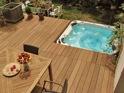 Originales De Terrasses Bois Pour Integrer Votre Spa Ou Piscine