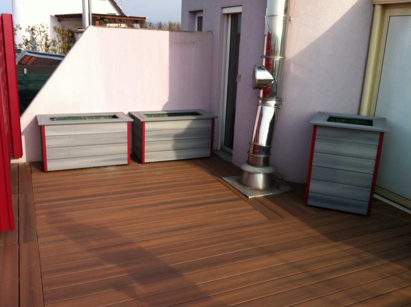 La terrasse en bois composite est une solution à la fois écologique