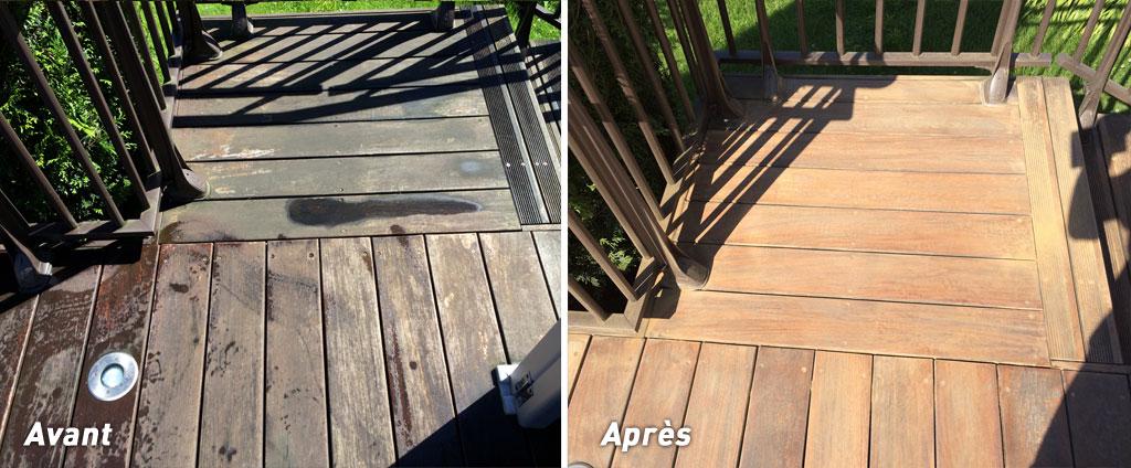 entretien de votre terrasse en bois, vente de produits