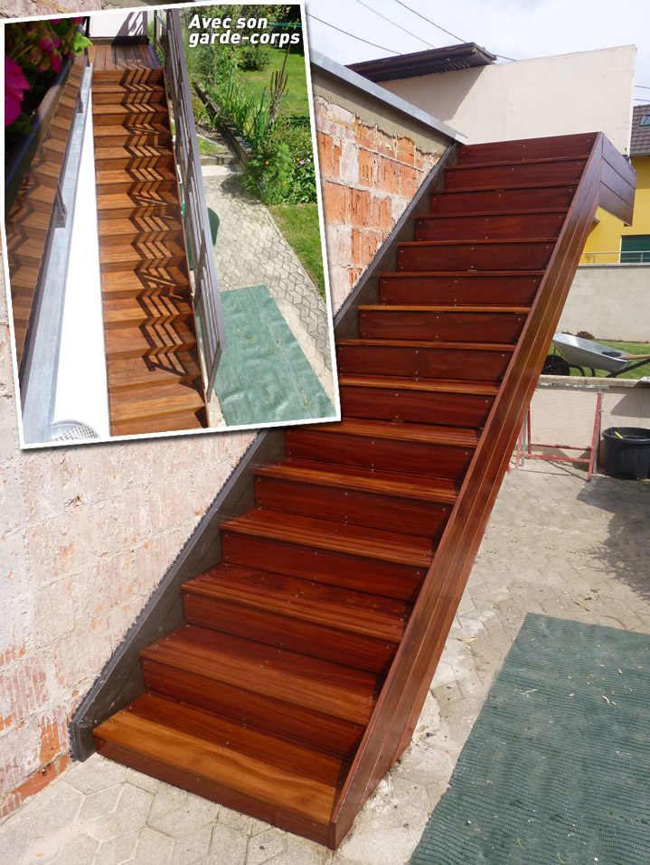 Pin Terrasses En Bois Sur Dalle Existante on Pinterest