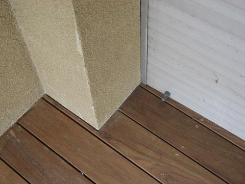 Les découpes et finitions de qualité d'une terrasse en bois