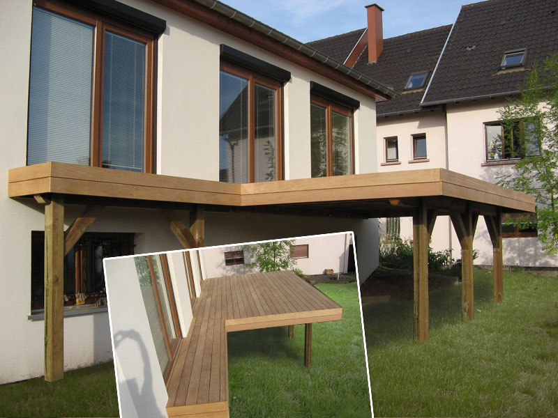 Comment construire terrasse bois pilotis la r ponse est sur - Construire terrasse surelevee ...