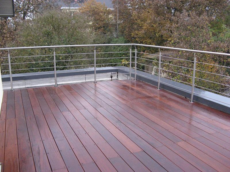 Conception, réalisation et installation de terrasses en bois sur