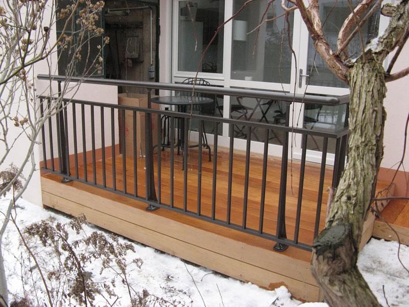 , réalisation et installation de terrasses en bois sur dalles