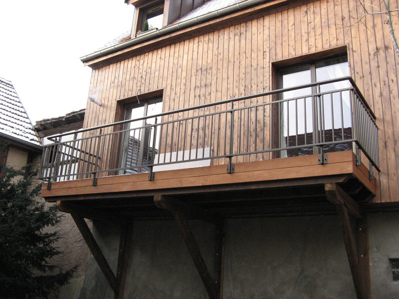 Balcon En Bois Suspendu : Balcon Terrasse Suspendue Pictures to pin on Pinterest