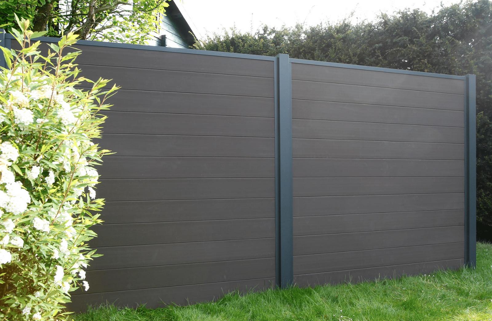 Brise Vue Terrasse Bois brise-vue modulable, panneau en bois composite extérieur