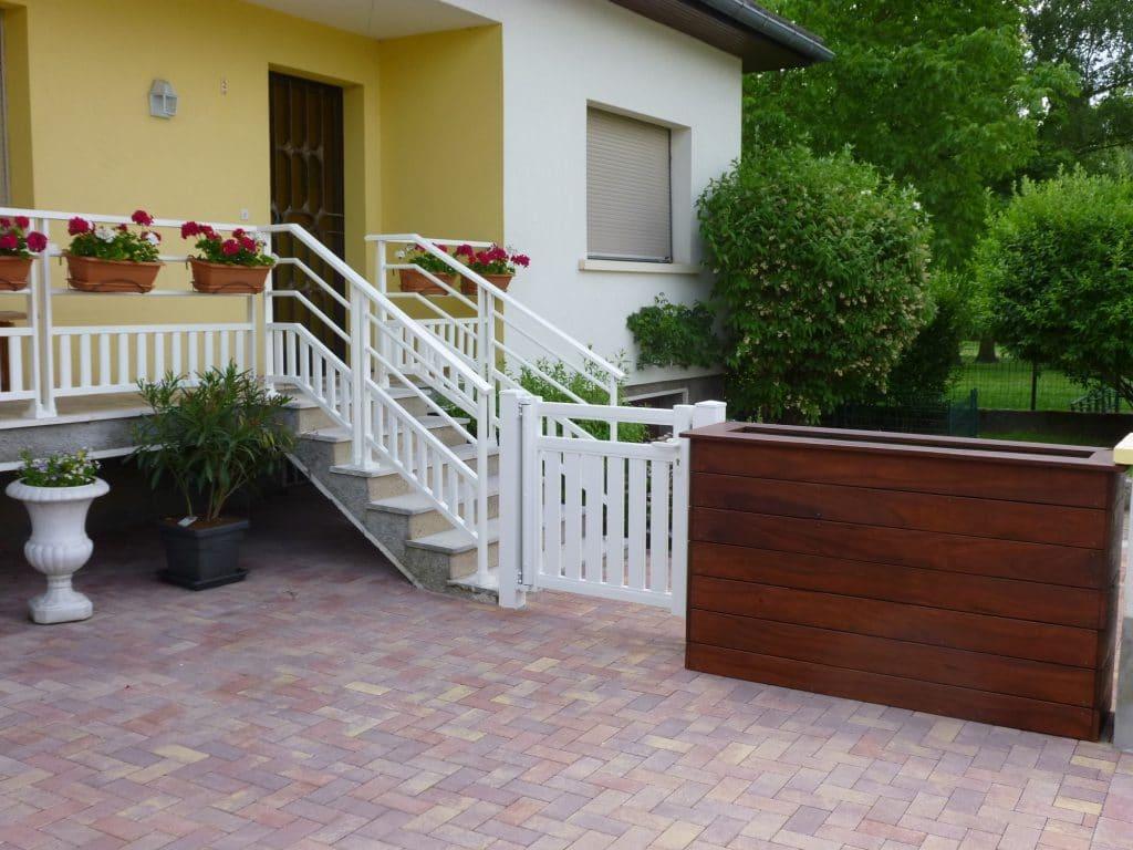 Installation de garde corps en aluminium pour terrasses et balcons ...
