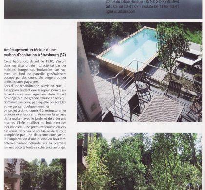 """Extérieur décors collabore avec le cabinet d'architecte """"Ligne & Volume"""""""