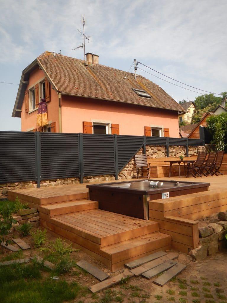 Piscine En Bois Alsace artisan terrasse en bois pour piscine, entreprise de